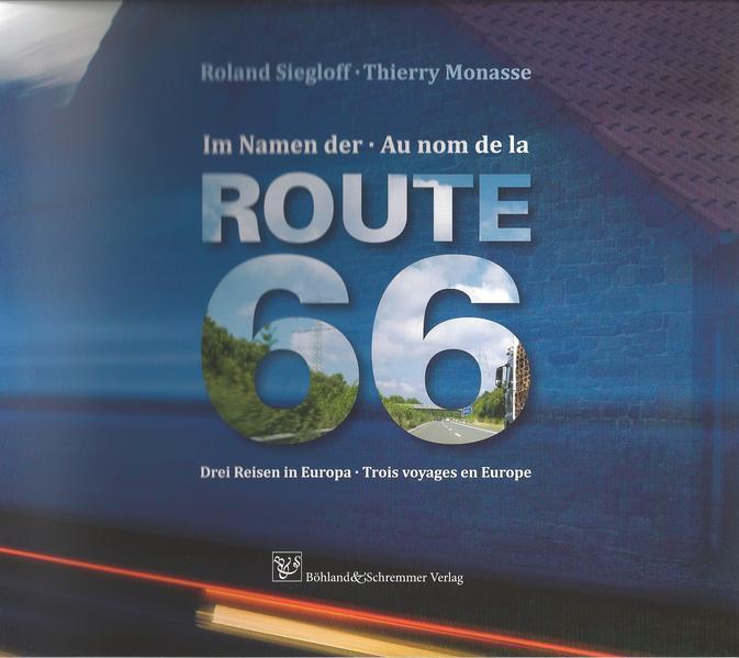 Im Namen der Route 66 - Au nom de la Route 66 - Coverbild