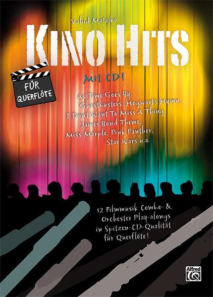 Kino Hits für Querflöte - Coverbild