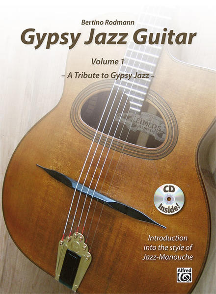 Gypsy Jazz Guitar - Coverbild