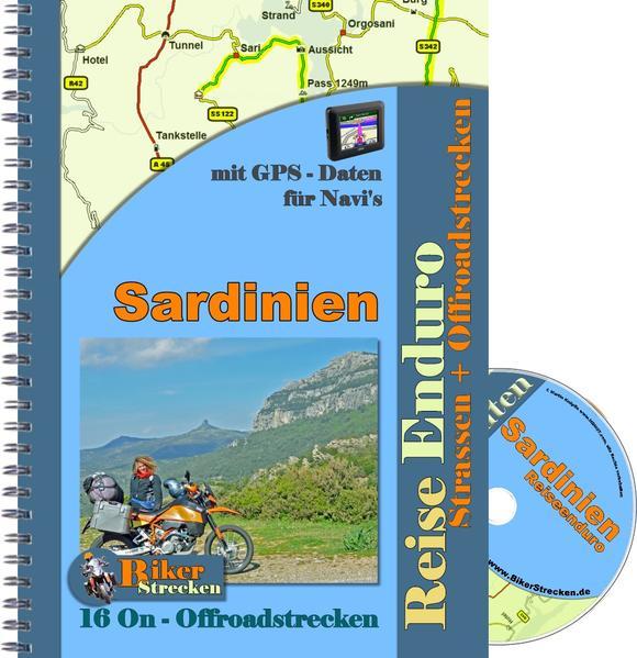 Reiseführer Reiseenduro Sardinien ( inkl. GPS - Daten CD ) - Coverbild