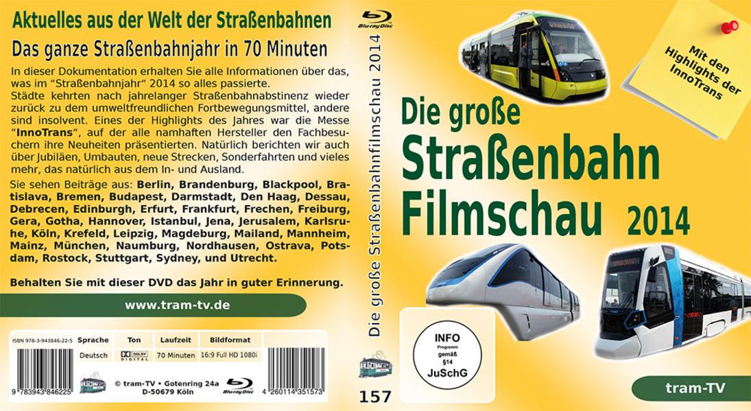 Die große Straßenbahnfilmschau 2014 - Coverbild