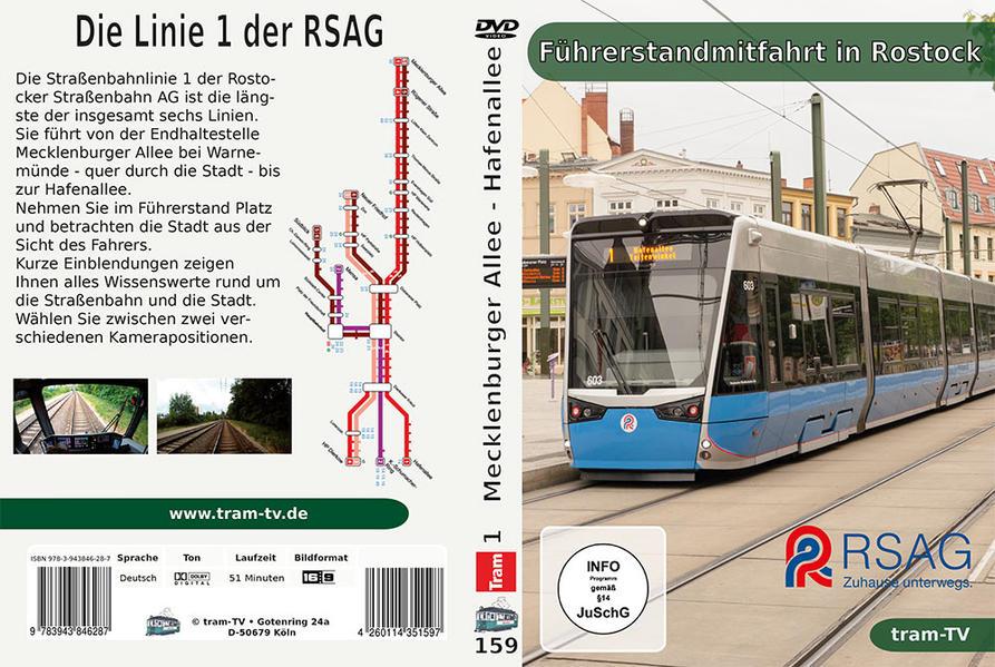 Führerstandmitfahrt in Rostock - Coverbild