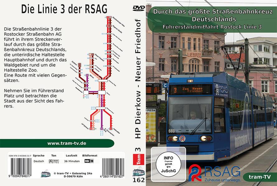 Durch das größte Straßenbahnkreuz Deutschlands - Coverbild
