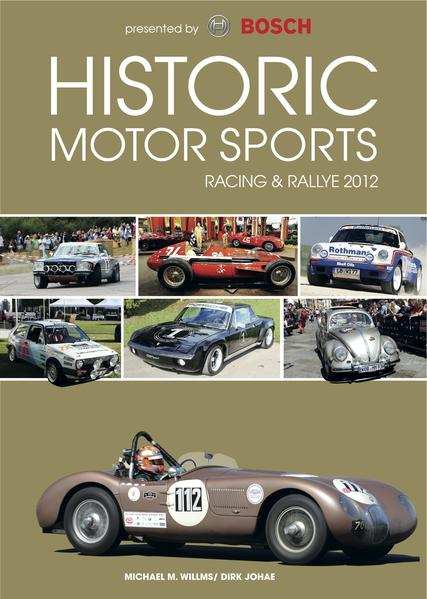 Historic Motor Sports Racing & Rallye 2012 - Coverbild