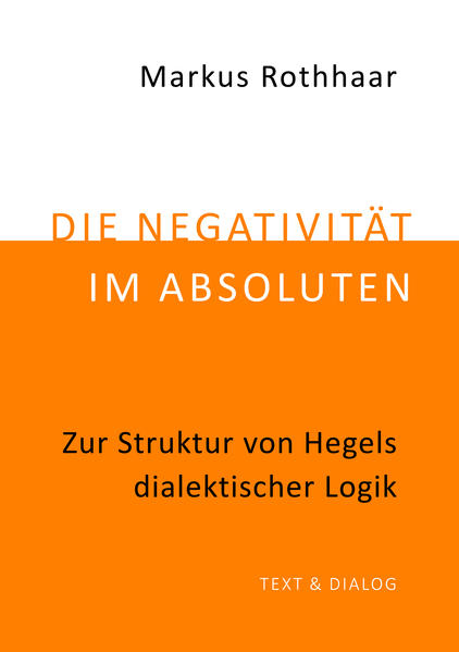 Die Negativität im Absoluten - Coverbild