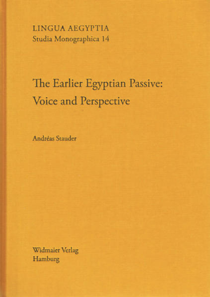 The Earlier Egyptian Passive - Coverbild