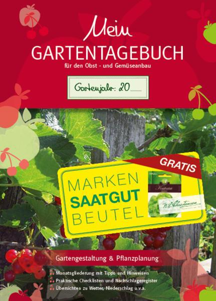 Mein Gartentagebuch für den Obst- und Gemüseanbau - Coverbild