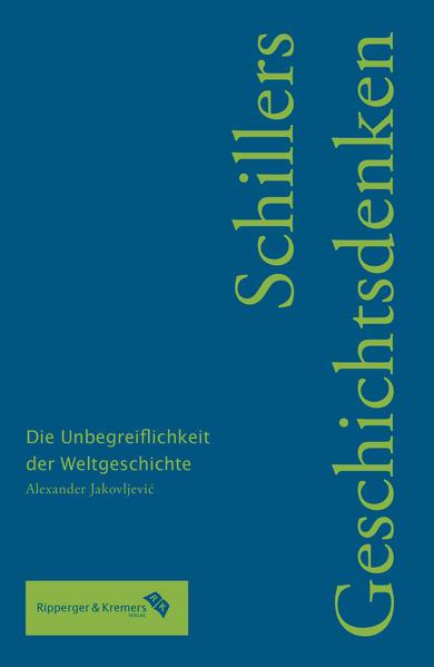Schillers Geschichtsdenken - Coverbild