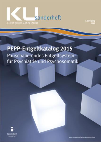 PEPP-Entgeltkatalog 2015 - Coverbild
