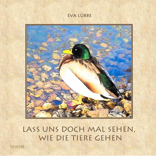 Lass uns doch mal sehen, wie die Tiere gehen - Ein farbiges Bilderbuch für Kinder - Coverbild