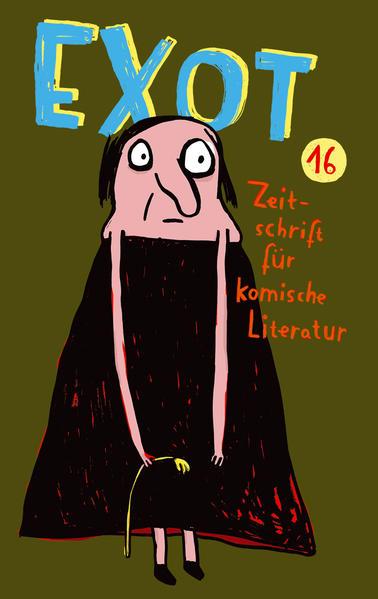 Exot #16 - Zeitschrift für komische Literatur - Coverbild