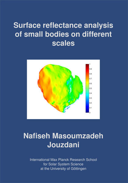 Surface reflectance analysis of small bodies on different scales - Coverbild