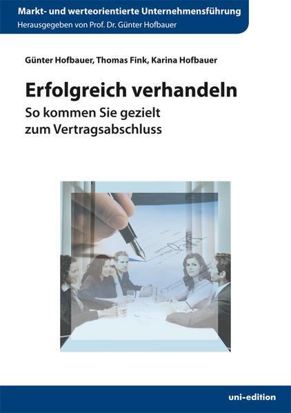 Erfolgreich verhandeln - Coverbild