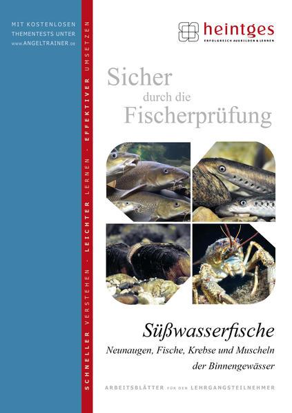 Süßwasserfische, Neunaugen, Fische, Krebse und Muscheln der Binnengewässer - Coverbild