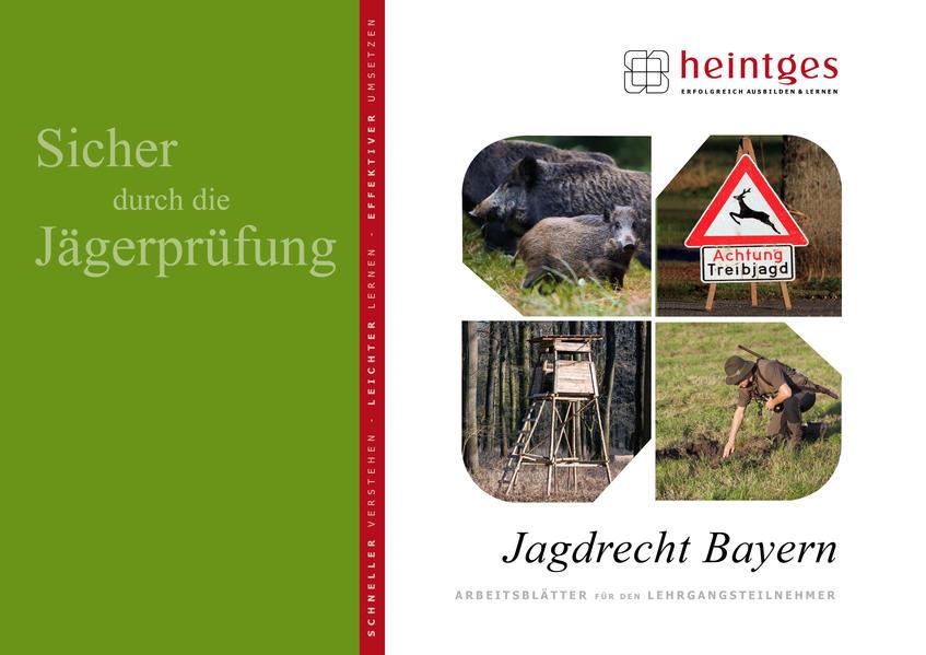 Jagdrecht Bayern - Coverbild