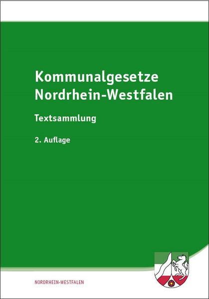 Kommunalgesetze Nordrhein-Westfalen - Coverbild