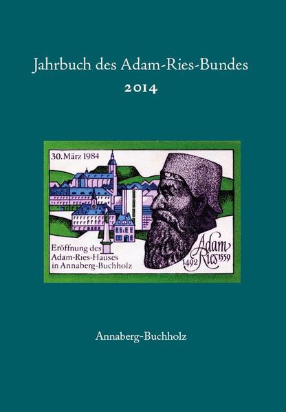 Jahrbuch des Adam-Ries-Bundes 2014 - Coverbild