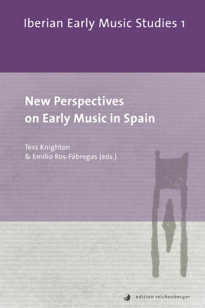 New Perspectives on Early Music in Spain - Coverbild