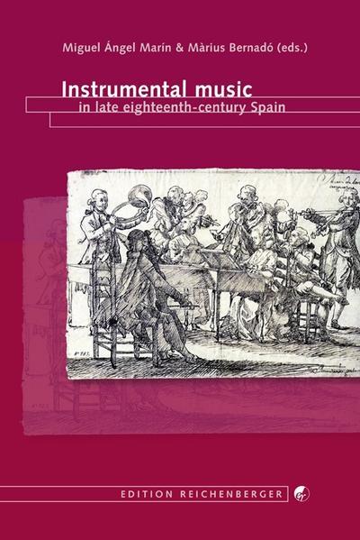 Instrumental music in late eighteenth-century Spain - Coverbild