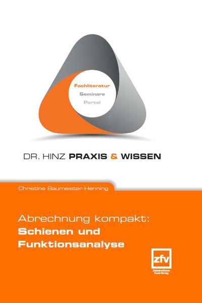 Abrechnung kompakt: Schienen und Funktionsanalyse - Coverbild