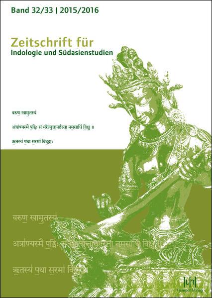 Zeitschrift für Indologie und Südasienstudien, Band 32/33 (2015/2016) - Coverbild
