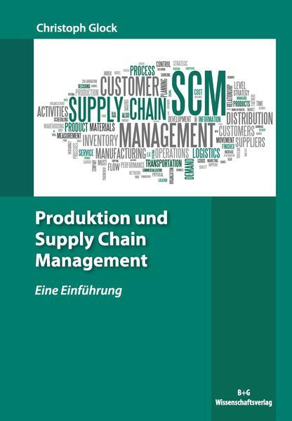 Produktion und Supply Chain Management - Coverbild