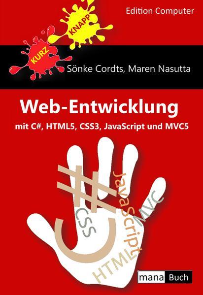 Web-Entwicklung mit C#, HTML5, CSS3, JavaScript und MVC5 - Coverbild