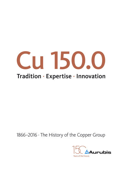 Cu 150.0 Tradition · Expertise · Innovation - Coverbild