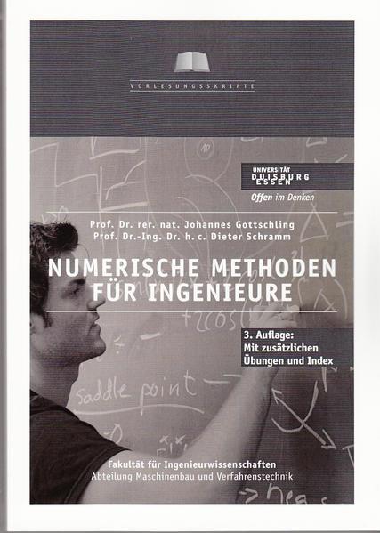Numerische Methoden für Ingenieure - Coverbild