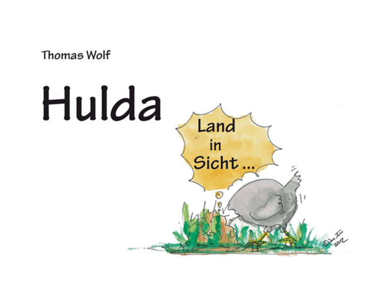Hulda - Coverbild