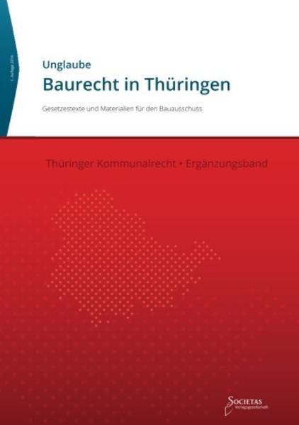 Baurecht in Thüringen - Coverbild
