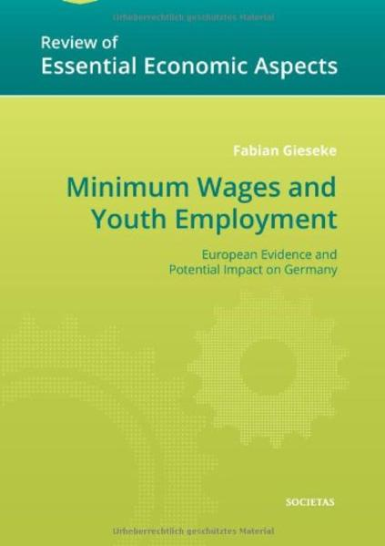 Minimum Wages and Youth Employment - Coverbild