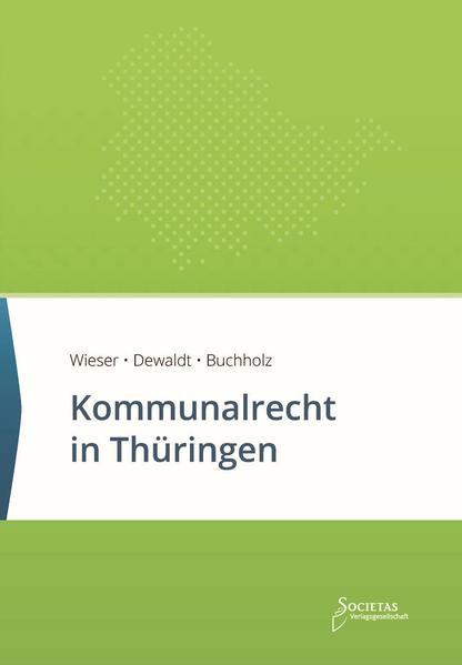 Kommunalrecht in Thüringen - Coverbild