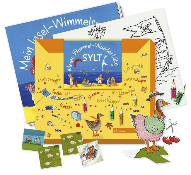 Meine Wimmel-Wundertüte Sylt - Coverbild