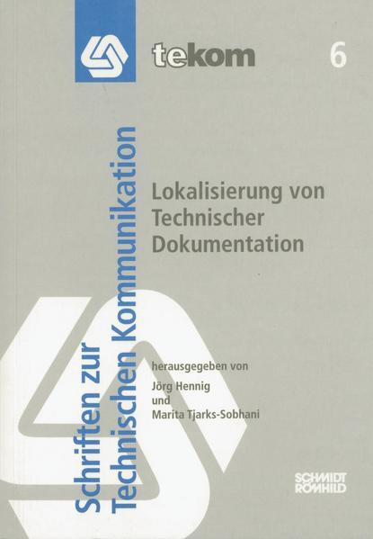 Lokalisierung von Technischer Dokumentation - Coverbild