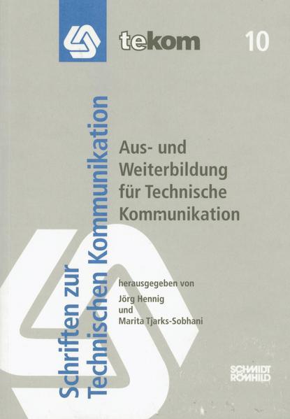 Aus- und Weiterbildung für Technische Kommunikation - Coverbild