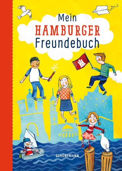 Mein Hamburger Freundebuch - Coverbild