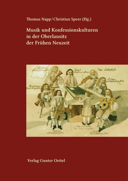 Musik und Konfessionskulturen in der Oberlausitz der Frühen Neuzeit - Coverbild