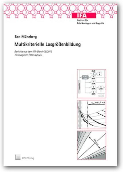 Multikriterielle Losgrößenbildung - Coverbild