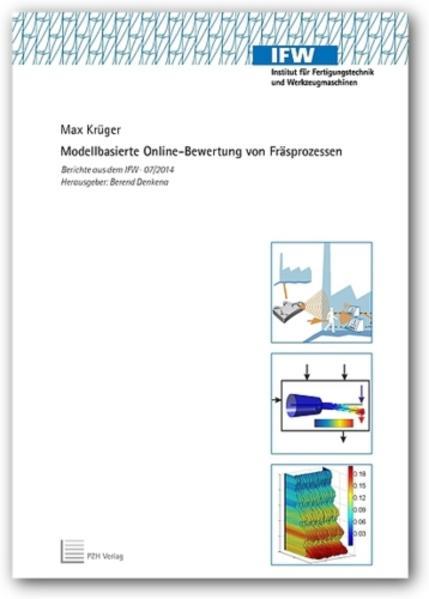 Modellbasierte Online-Bewertung von Fräsprozessen - Coverbild