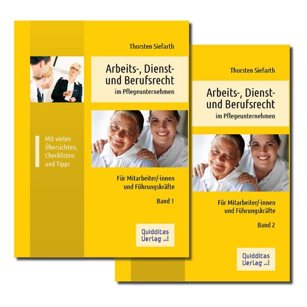 Arbeits-, Dienst- und Berufsrecht im Pflegeunternehmen - Coverbild