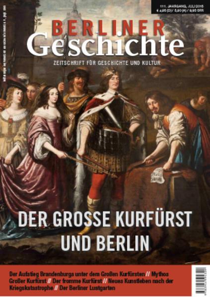 Berliner Geschichte - Zeitschrift für Geschichte und Kultur - Coverbild