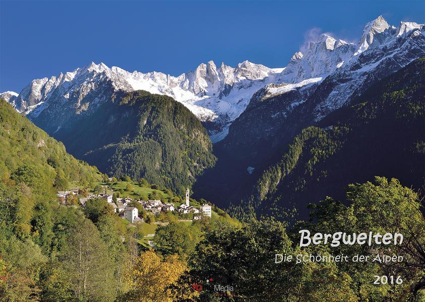Bergwelten - Die Schönheit der Alpen 2016 - Coverbild