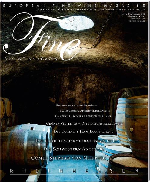 FINE Das Weinmagazin 01/2014 - Coverbild