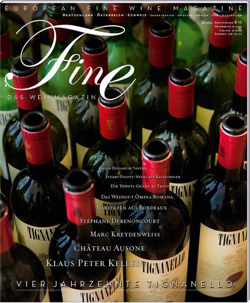 FINE Das Weinmagazin 03/2014 - Coverbild