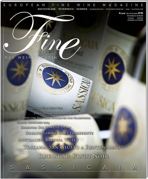 FINE Das Weinmagazin 04/2015 - Coverbild