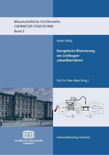 Energetische Bilanzierung von Lichtbogenschweißverfahren - Coverbild