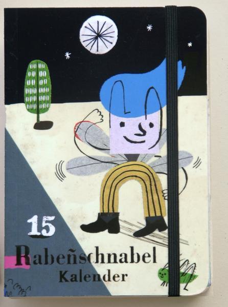 Rabenschnabel Taschenkalender 2015 - Coverbild
