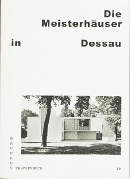 Die Meisterhäuser in Dessau - Coverbild