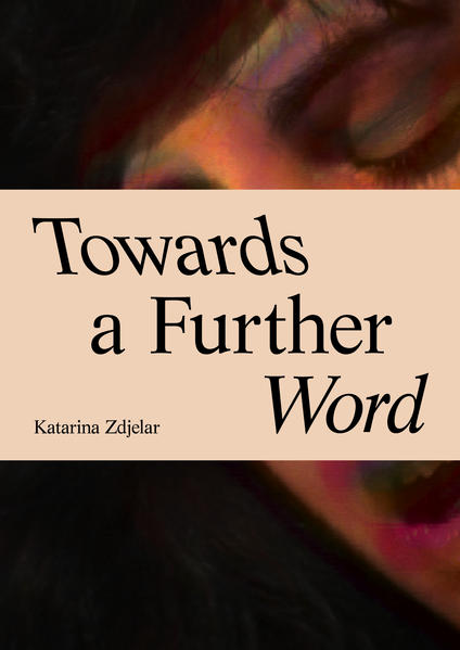 Towards a Further Word - Coverbild